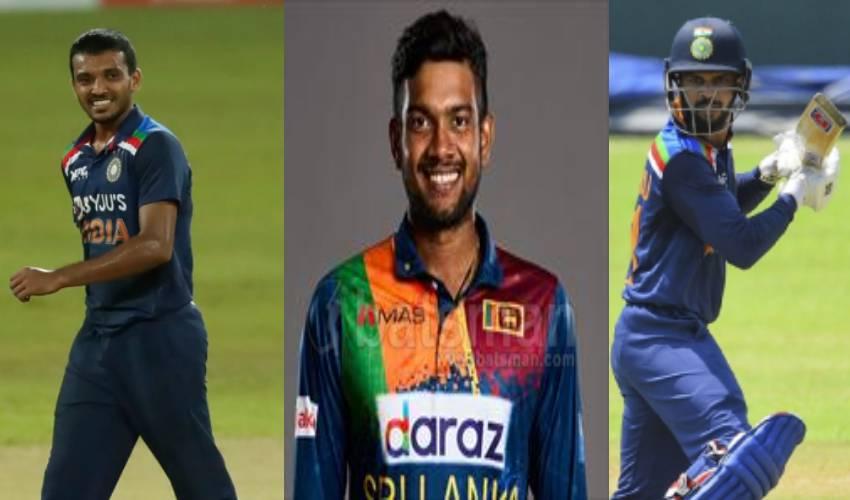 "IND vs Sri Lanka : రెండవ టీ20లో ఆసక్తికర ఘటన.. బౌలింగ్, బ్యాటింగ్, ఫిల్డింగ్.. ముగ్గురు ""డెబ్యూలే"""