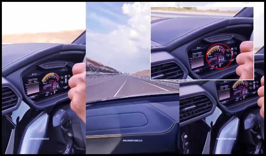 Lamborghini Urus SUV : ఇండియా రోడ్ల మీద 317 కి.మీ స్పీడ్ దూసుకెళ్లిన లాంబోర్గినీ యూరస్.. టాప్ సెలబ్రిటీల సూపర్ లగ్జరీ కారు ఇదే..!