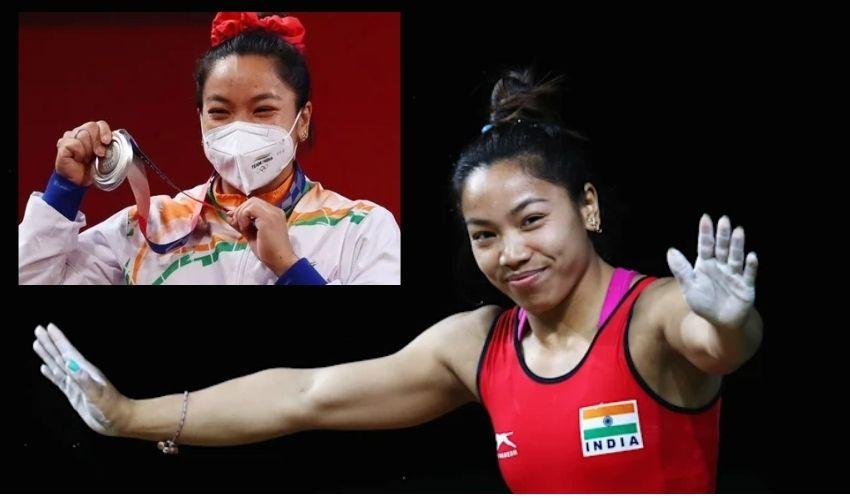 Olympics : 20 ఏళ్ల భారత్ నిరీక్షణ… రజతాన్ని ముద్దాడిన మీరాబాయి