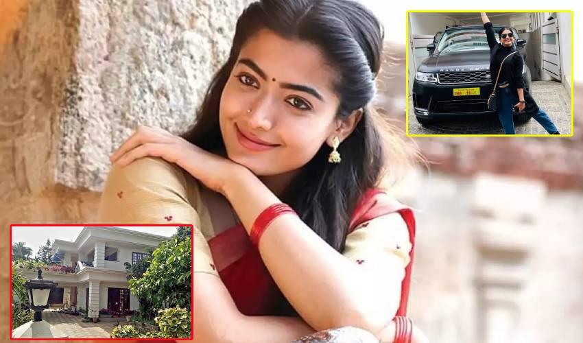 Rashmika Mandanna : రష్మిక అంత ఆస్తి సంపాదించిందా?