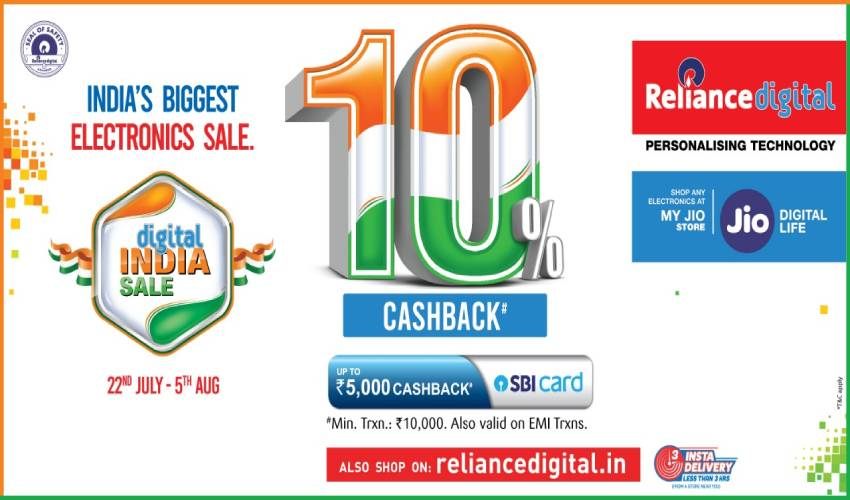 Reliance Digital Announces Digital India Sale (1)