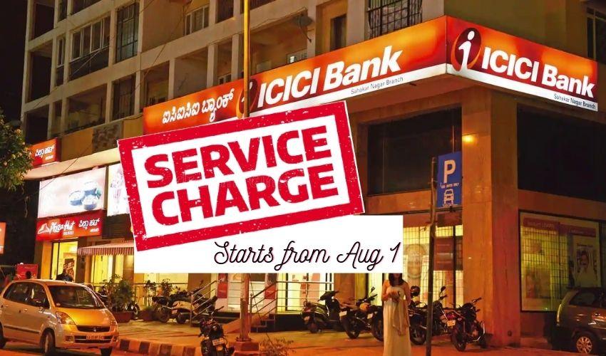 ICICI Bank service charges: వచ్చే వారం నుంచి పెరగనున్న ఐసీఐసీఐ బ్యాంక్ ఛార్జీలు