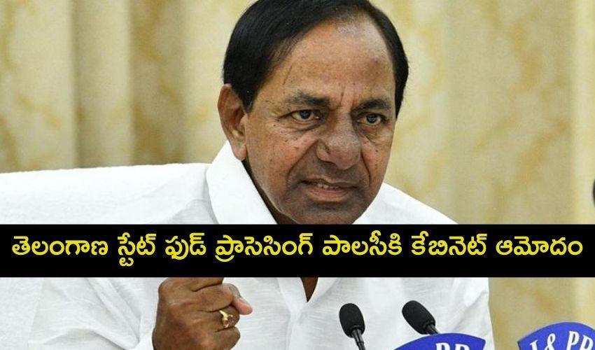 Telangana Cabinet: తెలంగాణ స్టేట్ ఫుడ్ ప్రాసెసింగ్ పాలసీకి కేబినెట్ ఆమోదం