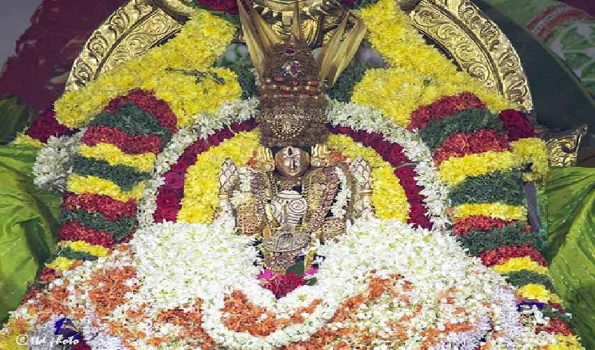 Tiruchanoor Maha Pushpa Yagam : తిరుచానూరులో శాస్త్రోక్తంగా ముగిసిన కనకాంబర సహిత కోటి మల్లెపుష్ప మహాయాగం