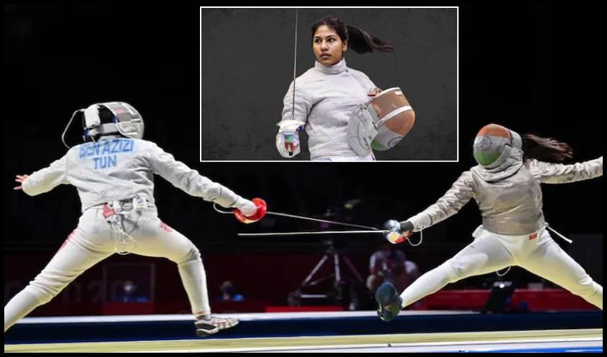 Tokyo Olympics 2020 : ఫెన్సింగ్: భవానీ దేవి పరాజయం