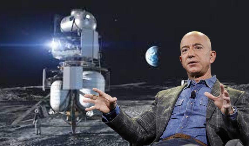 Jeff Bezos : నాసాకు బెజోస్ బంపర్ ఆఫర్.. మాకు అప్పగిస్తే 15వేల కోట్ల డిస్కౌంట్..!