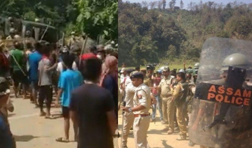 Assam-Mizoram Border : అసోం-మిజోరాం బోర్డర్ లో ఉద్రిక్త పరిస్థితులు..ట్విట్టర్ లో సీఎంల ఫైట్