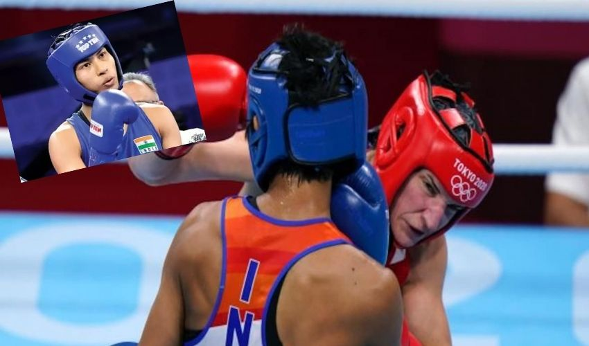Tokyo Olympics : భారత బాక్సర్ లవ్లీనా విజయం..క్వార్టర్ ఫైనల్లోకి ఎంట్రీ