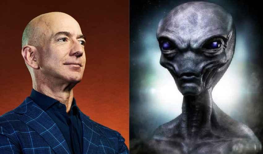 Amazon Jeff Bezos : అమెజాన్ బాస్ను ఏలియన్స్ కిడ్నాప్ చేశారు అంటూ పుకార్లు