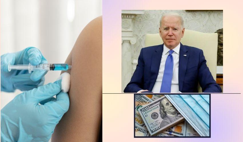 Joe Biden: వ్యాక్సిన్ వేసుకునే వారికి 100డాలర్లు ఇవ్వాలి – జో బైడెన్