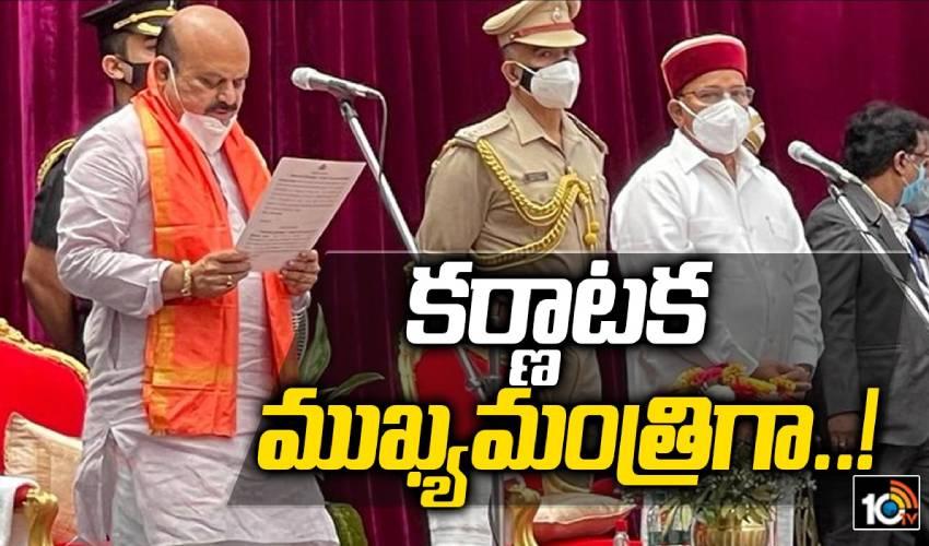 Karnataka CM: కర్ణాటక సీఎం ప్రమాణ స్వీకారం.. బొమ్మైకి కలిసొచ్చిన అంశాలు