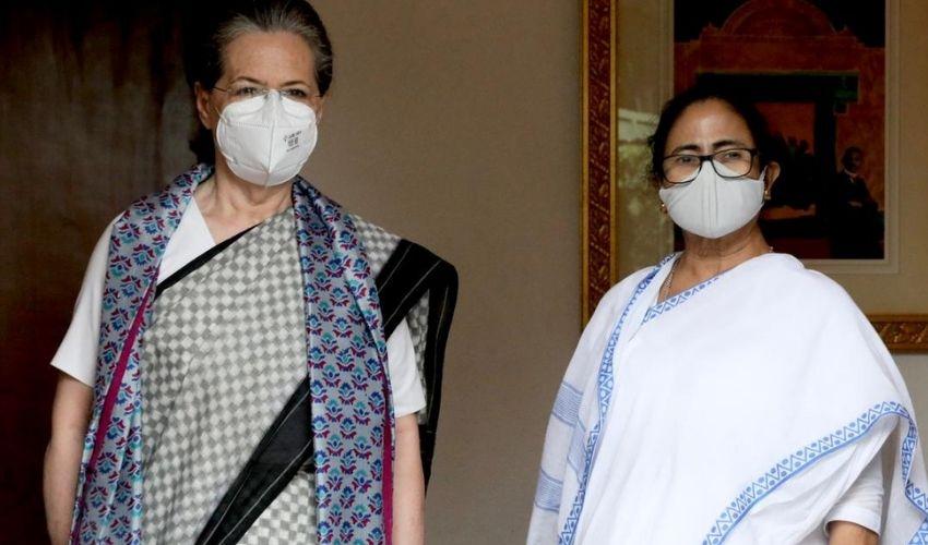Mamata Banerjee : సోనియాతో మమత భేటీ..విపక్షాల ఐక్యతకు దీదీ పిలుపు