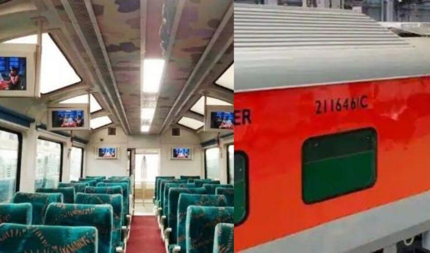 Indian Railway : రైల్వే ప్రయాణికుల భద్రతకోసం….అగ్నినిరోధక రైల్వే కోచ్ లు