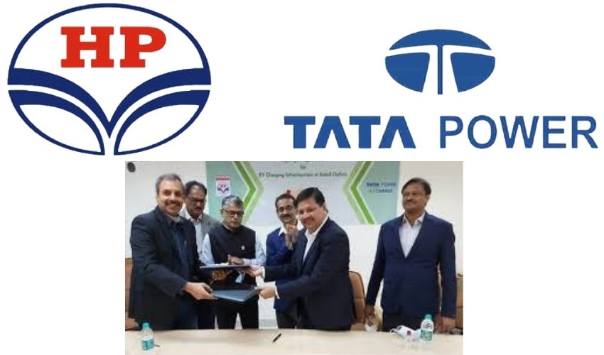 Tata Power : దేశవ్యాప్తంగా హెచ్ పీసీఎల్ అవుట్ లెట్లలో టాటాపవర్ విద్యుత్ ఛార్జింగ్ పాయింట్స్
