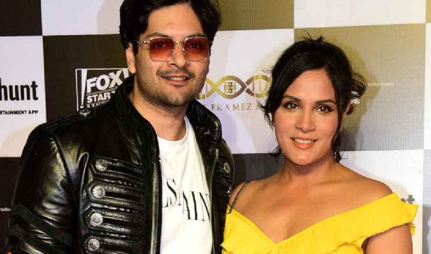 Ali Fazal & Richa Chadda