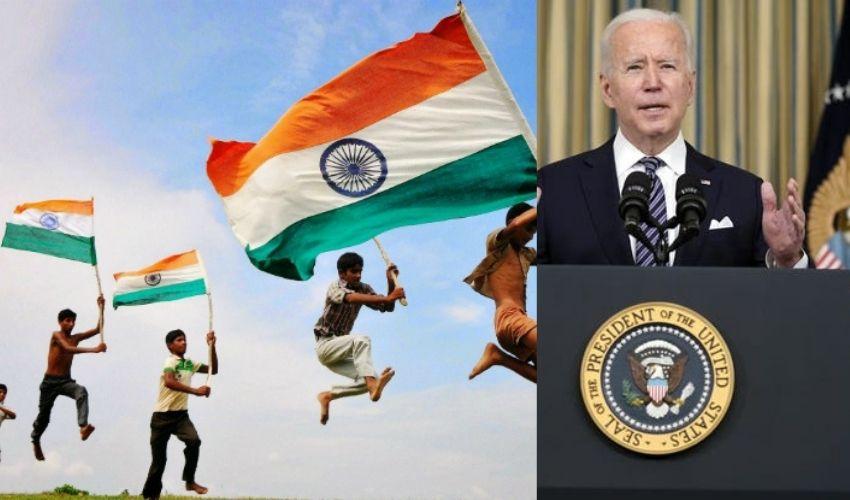 Joe Biden : ప్రపంచానికి స్ఫూర్తినిస్తూనే ఉండండి..భారతీయులకు బైడెన్ శుభాకాంక్షలు