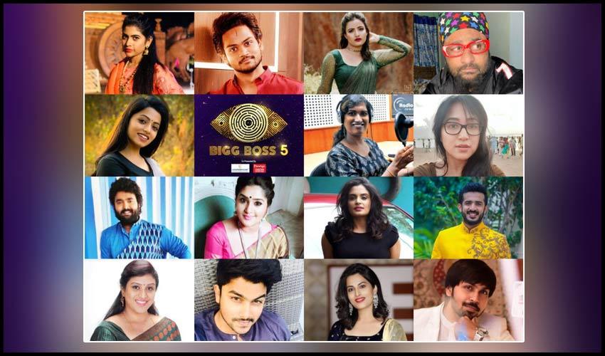 Bigg Boss Contestants : బిగ్బాస్ సీజన్ 5 తెలుగు కంటెస్టెంట్స్ లిస్ట్?