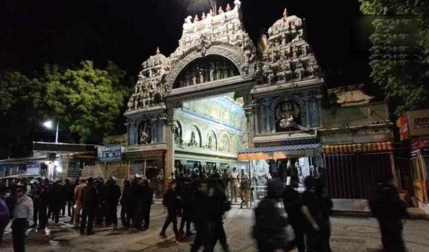 Commandos Drill : మీనాక్షి ఆలయంలో ఎన్ఎస్జీ కమాండోల డ్రిల్..