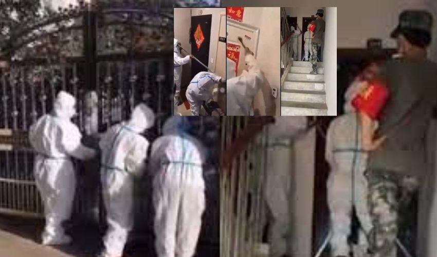 People's House Arrest :చైనాలో ప్రజల్ని ఇళ్లలో పెట్టి తాళం వేసేస్తున్న అధికారులు..బయటకొస్తే లోపలేస్తామని హెచ్చరికలు