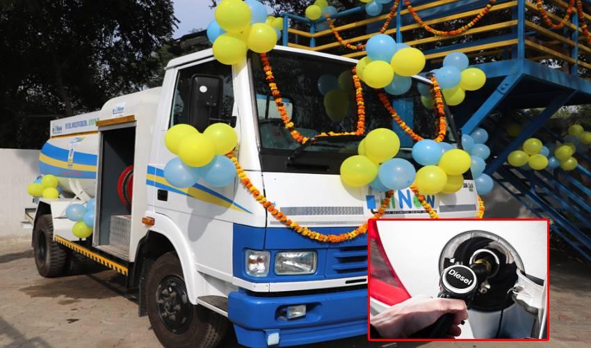 Diesel Door Delivery : నేటి నుంచి డీజిల్ డోర్ డెలివరీ