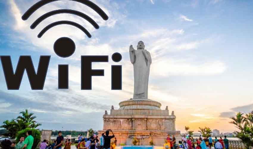 Free WiFi : హైదరాబాద్ వాసులకు గుడ్న్యూస్, ఉచితంగా వై-ఫై సౌకర్యం
