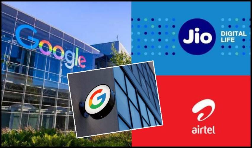 Jio vs Airtel.. టెలికం రంగంలోకి గూగుల్ ఎంట్రీ?
