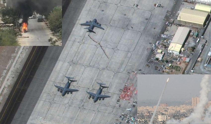 Afghanistan : కాబూల్ ఎయిర్ పోర్ట్ పై రాకెట్ దాడులు