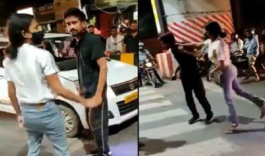 Viral Video : క్యాబ్ డ్రైవర్ను కొట్టిన మహిళపై ఎఫ్ఐఆర్