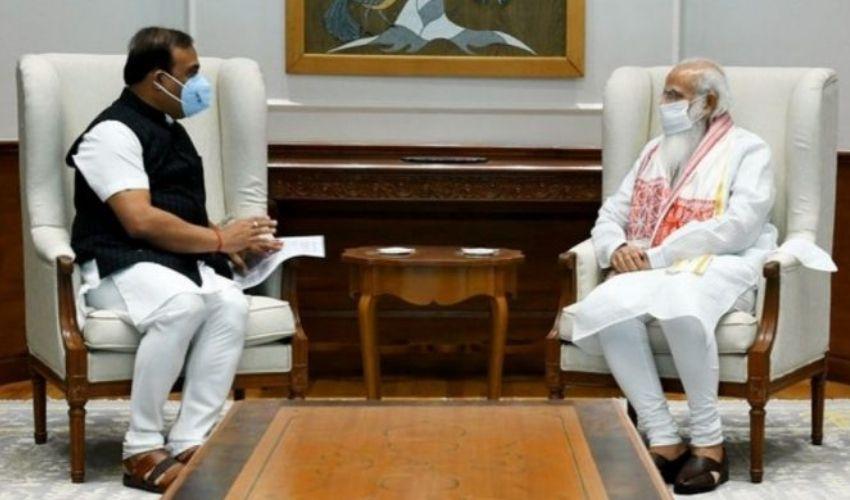 PM Modi: ప్రధానితో అస్సాం సీఎం సమావేశం.. సరిహద్దు సమస్యలపై చర్చ