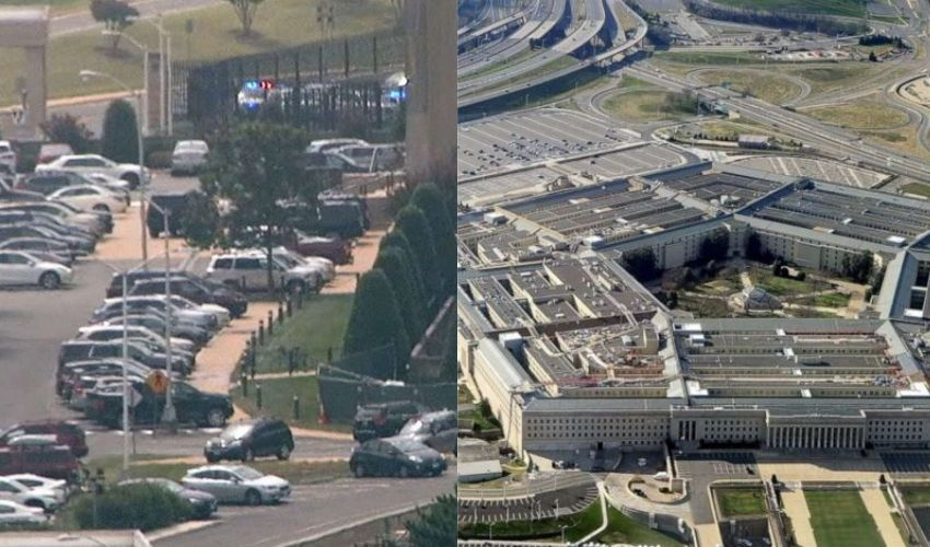 Pentagon : కాల్పుల కలకలం..పెంటగాన్ లాక్ డౌన్