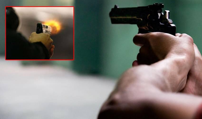 Police Case : కేసు పెట్టిందని భార్యపై కాల్పులు జరిపిన భర్త