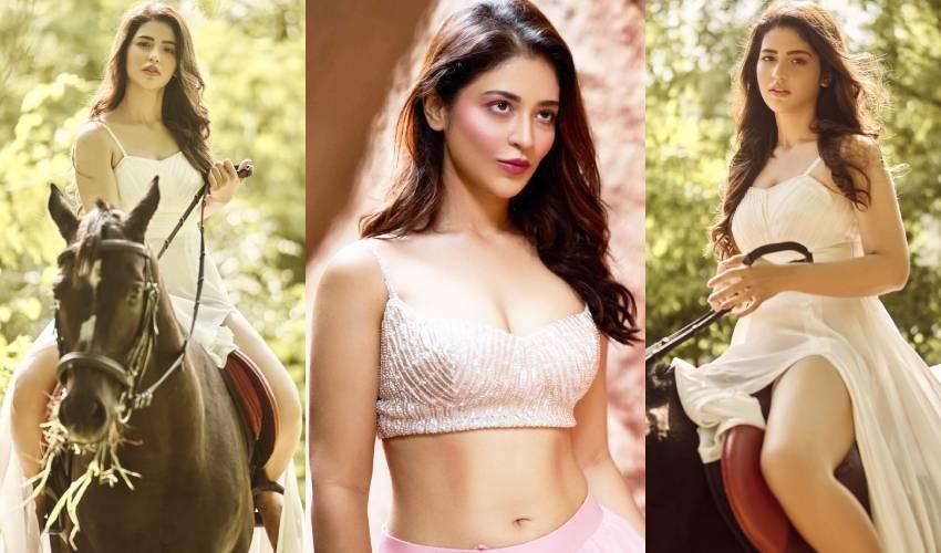 Priyanka Jawalkar : గుర్రమెక్కిన 'టాక్సీవాలా' బ్యూటీ..