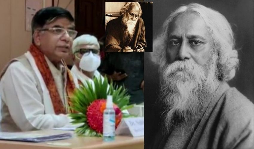 Tagore Skinne :రవీంద్రనాథ్ ఠాగూర్ శరీర రంగుపై కేంద్రమంత్రి వివాదాస్పద వ్యాఖ్యలు