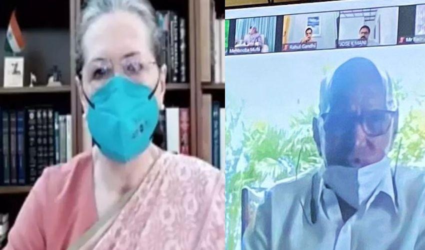 Sonia Gandhi : టార్గెట్ 2024..విపక్షాలకు సోనియా దిశానిర్దేశం