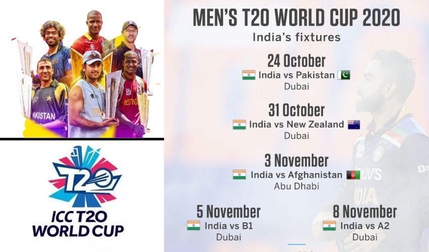 T20 World Cup  2021: టీ20 వరల్డ్ కప్ మ్యాచ్.. ఇండియా తొలి మ్యాచ్ పాకిస్తాన్పైనే