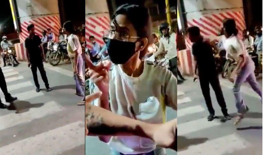 Viral News: కార్ డ్రైవర్ను వెంటపడి కొట్టిన మహిళ.. ఆపై వీరంగం!