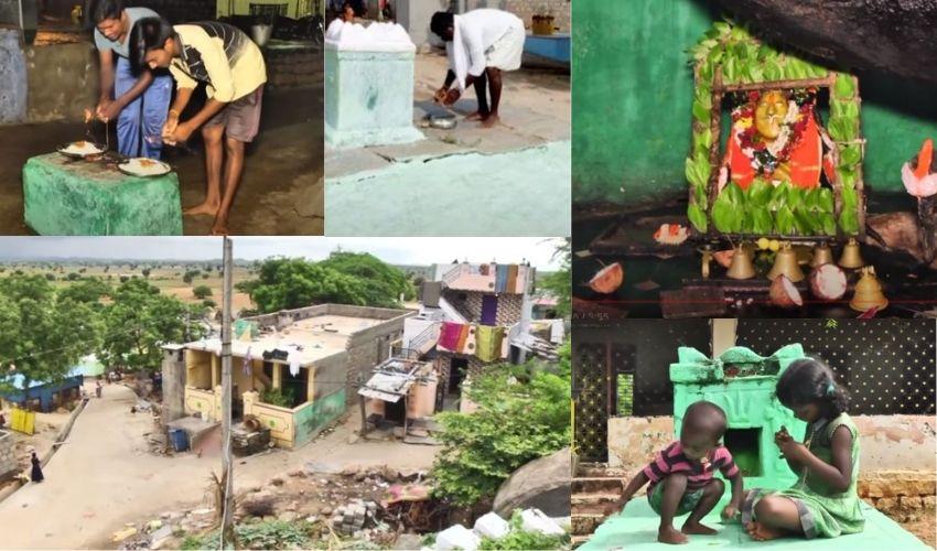 Ayyakonda Village : కర్నూలు జిల్లాలో వింత గ్రామం.. ఇంటి ముందే సమాధులు