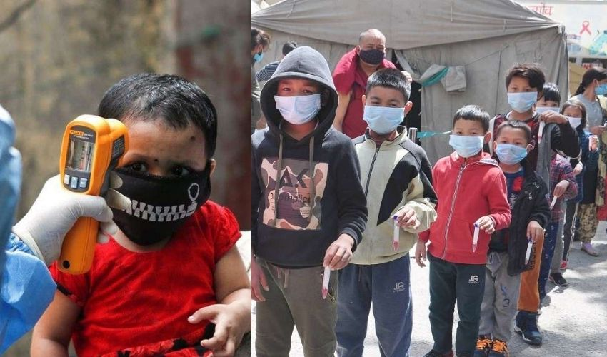 Corona In Children : చిన్నారులపై కరోనా పంజా..మిజోరాంలో 128 మంది పిల్లలకు కోవిడ్