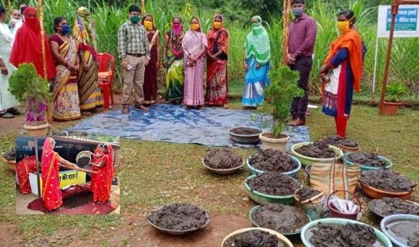 Cow Dung: ఆవు పేడే వారి ఆదాయం! వ్యాపారంలో దూసుకుపోతున్న అతివలు
