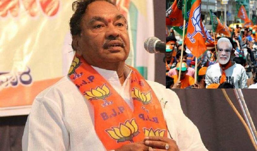 K.S. Eshwarappa : బీజేపీ బలం పెరిగింది..టచ్ చేస్తే తిరగబడండి!