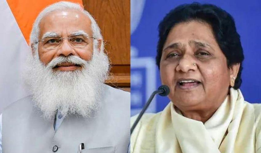 Mayawati సంచలన ప్రకటన..మోదీ సర్కార్ కి మద్దతిస్తా