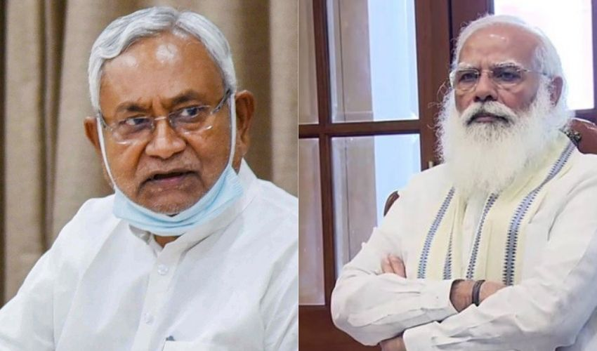 """Nitish Kumar : బీజేపీకి నితీష్ బిగ్ ఝలక్..'పెగాసస్""""పై దర్యాప్తు జరగాల్సిందే"""
