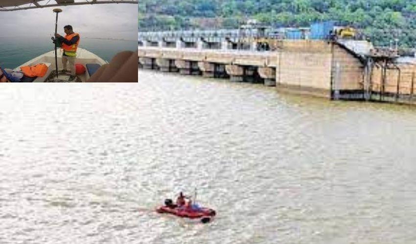 Srisailam Project : శ్రీశైలం ప్రాజెక్టులో హైడ్రోగ్రాఫిక్ సర్వే