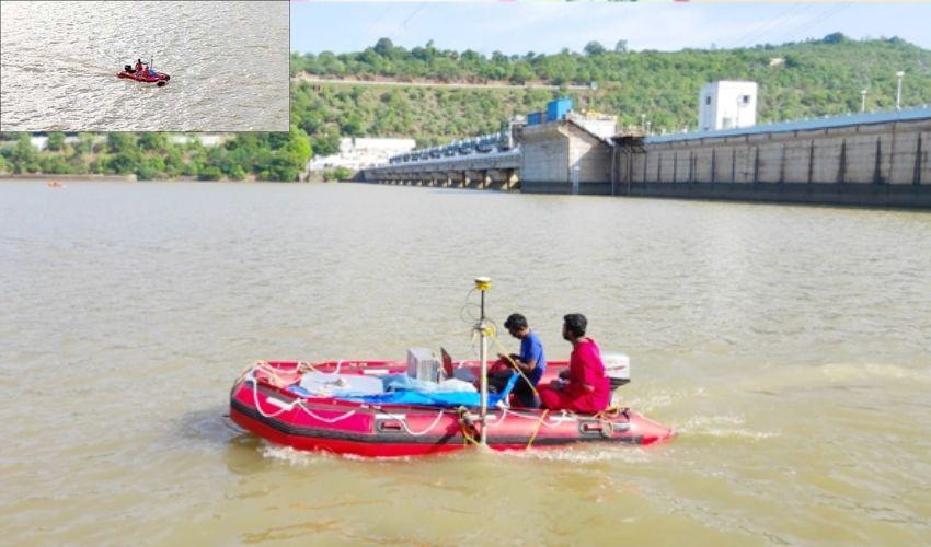 Srisailam Project : శ్రీశైలం ప్రాజెక్టులో హైడ్రోగ్రాఫిక్ సర్వే ప్రారంభం