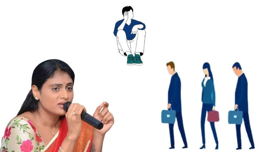 YS Sharmila: భారీ సంఖ్యలో నిరుద్యోగులంతా నామినేషన్ వేయండి – షర్మిల