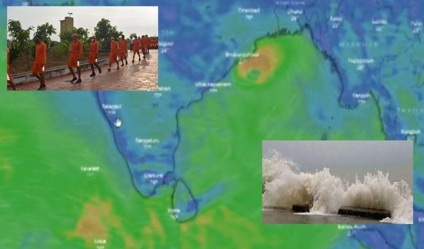 Cyclone : వణికిన ఉత్తరాంధ్ర, శ్రీకాకుళంపై గులాబ్ ప్రభావం