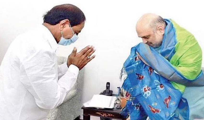 CM KCR : అమిత్ షాతో కేసీఆర్ భేటీ.. రెండు రోజుల్లో ఇది రెండోసారి