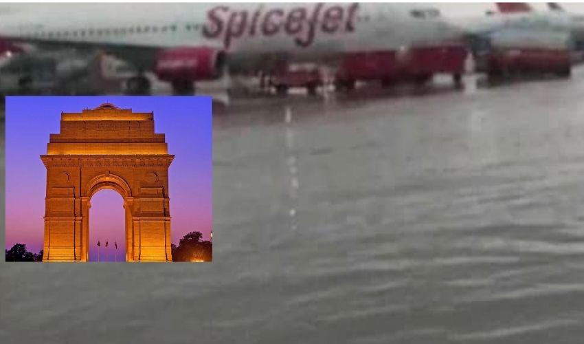 Heavy Rainfall : ఢిల్లీని కుమ్మేస్తోంది…46 ఏళ్ల తర్వాత