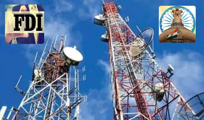 Telecom Sector : టెలికాం రంగంలో భారీ సంస్కరణలు..వంద శాతం ఎఫ్ డీఐలకు కేంద్రం అనుమతి