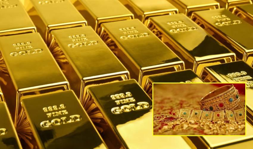 Gold Rate : భారీగా తగ్గిన బంగారం ధర